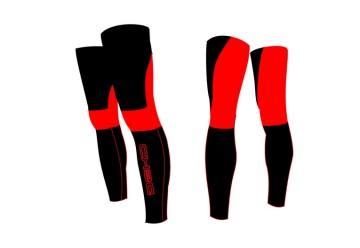 Gambali inv. NEW DUAL rosso/nero