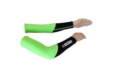 Manicotti ciclista DUAL verde/nero DEKO
