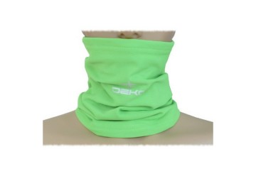 Scaldacollo TUBE verde fluo  DEKO