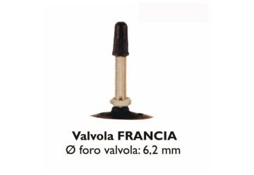 CAMERA 26X1.90/95 VALVOLA FRANCIA 48MM
