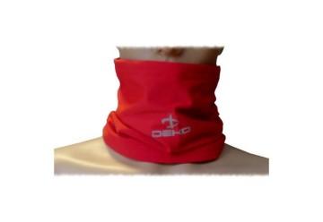 Scaldacollo TUBE rosso DEKO