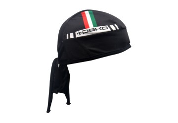 Bandana FLAG nero/tricolore DEKO